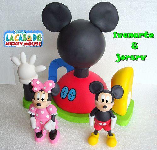 La casa de mickey mouse fiesta pinterest minnie - Casa de minnie mouse ...