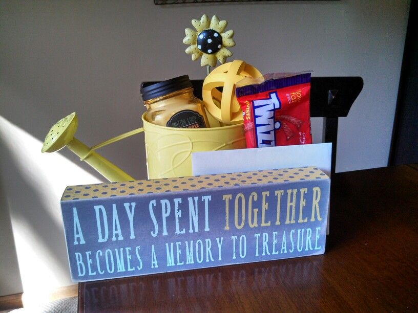 Nanny or daycare provider thank you gift. \