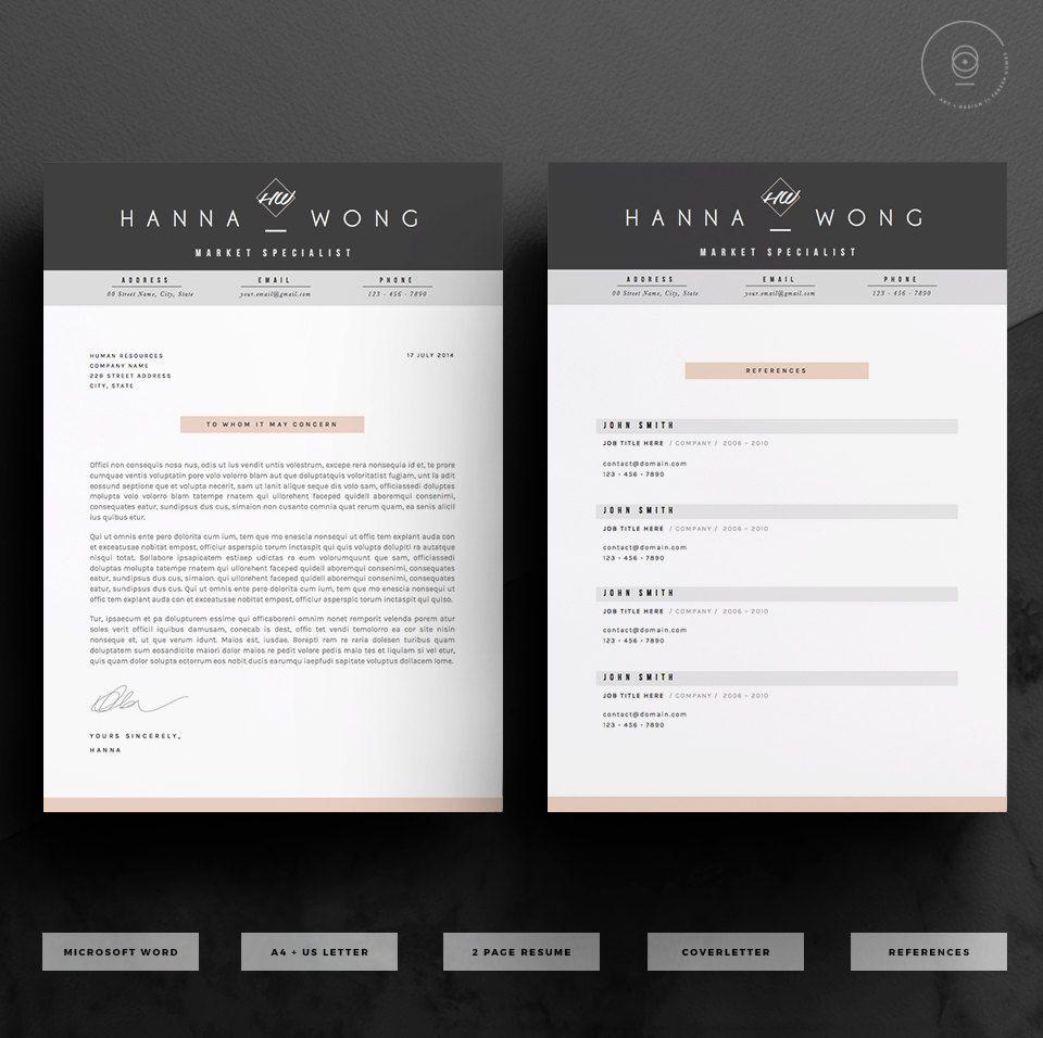Reprendre Template / modèle de CV + lettre de motivation