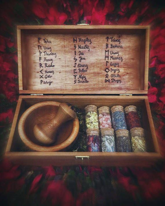 Witch Box Herb Witch Box Mix Your Own Blends Pagan Runes