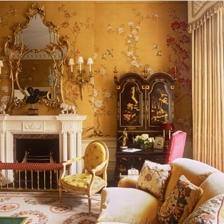 So beautiful!! Drawing room in central London, designed by Alidad ...