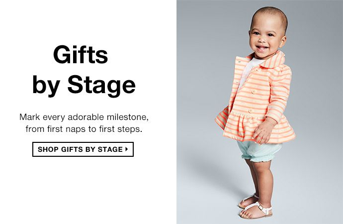 shop gifts by stage