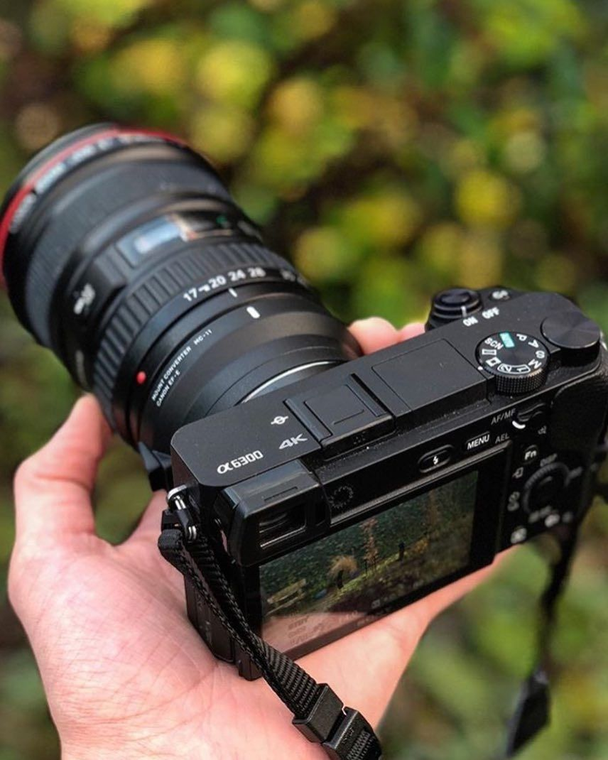 Would You Use Canon Glass On Sony Sony A6300 With A Canon 17 40mm F 4 0 Sigma Mc 11 Adapter Photo By Thijsdekoning Use Photographicblogsite And T