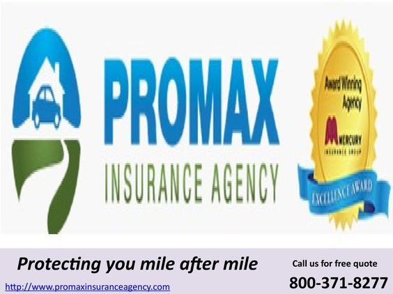 General Insurance Quotes Gorgeous Promax Insurance Agency Is A Mercury Authorized Agent Provides Cheap
