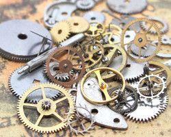 b3008f0ae8 シリコンモチーフ4つセット | Clock works | スチームパンク時計 ...