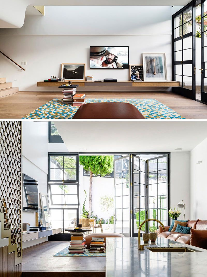 The Contemporary Redesign Of A 1950s House In Sydney ...