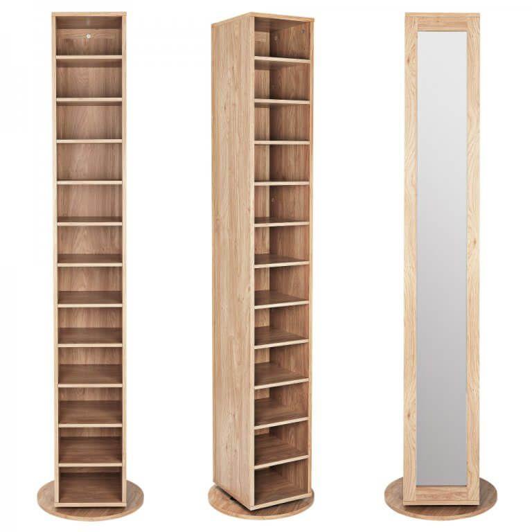 tall pine shoe cabinet with mirror door shoe storage on shoe rack wooden with door id=62970