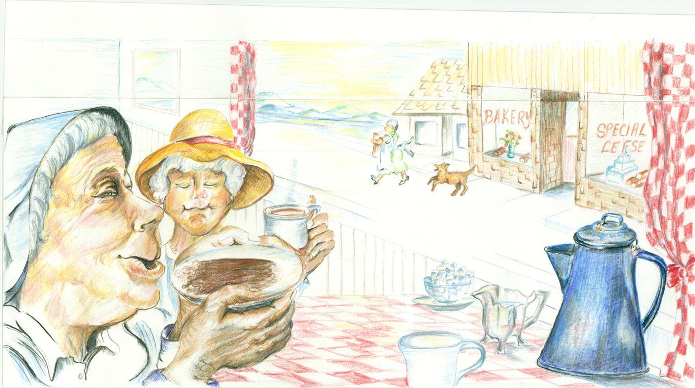 Colored Pencil Illustration For Children S Book Children Illustration Pencil Illustration Illustration