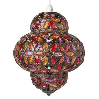 Moroccan Jewelled Pendant Lighting Shades The Range Ceiling