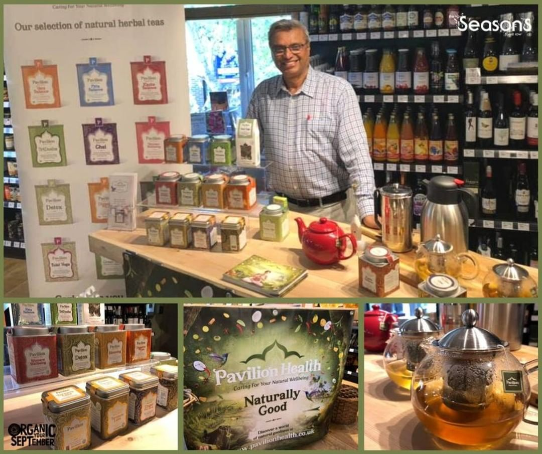 Sampling has begun!Dr. Jani is here with his amazing Organic Teas and Lattes! Come and have a try!janimilind.....#plantbased