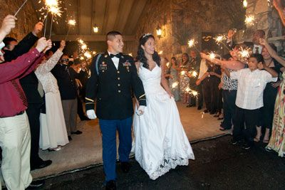 Army Dress Blues Wedding | Military Wedding