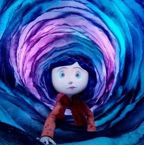 Coraline Tunnel Coraline Going Through The Tunnel Coraline Movie Coraline Jones Coraline