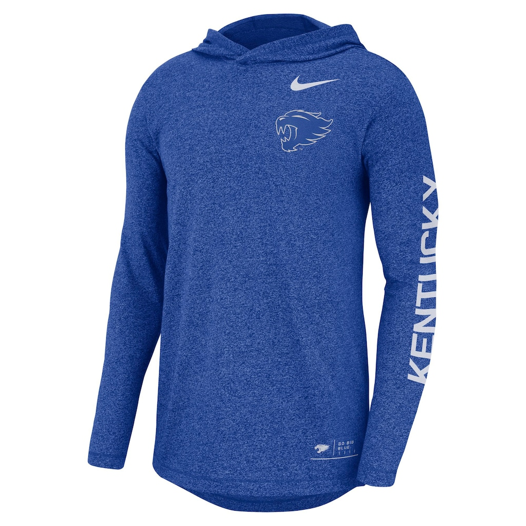 stable quality many fashionable reliable quality Men's Nike Kentucky Wildcats Hoodie Tee | Nike men, Hoodies, Long ...
