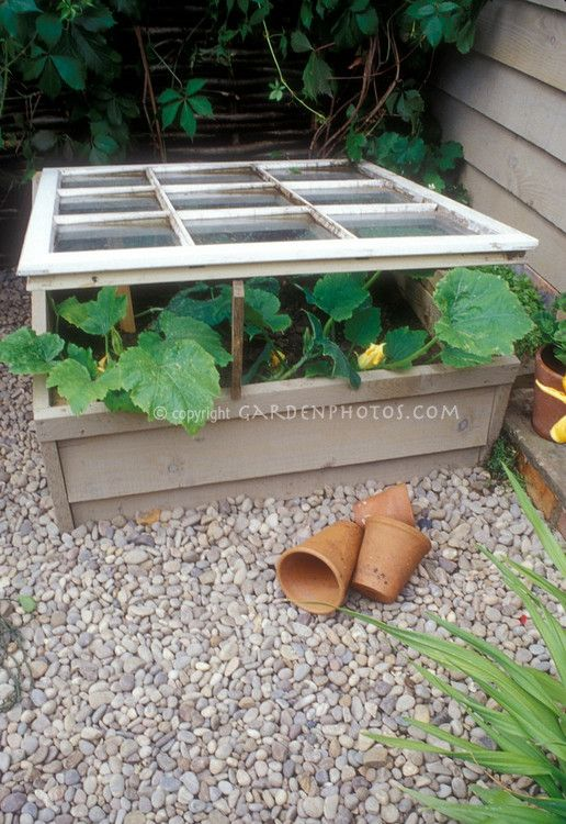 This is from the site that Marilyn pinned.  Lots of great pictures to give you ideas.  This would keep a raised bed dry long enough to get established in the spring.  RE store here I come!