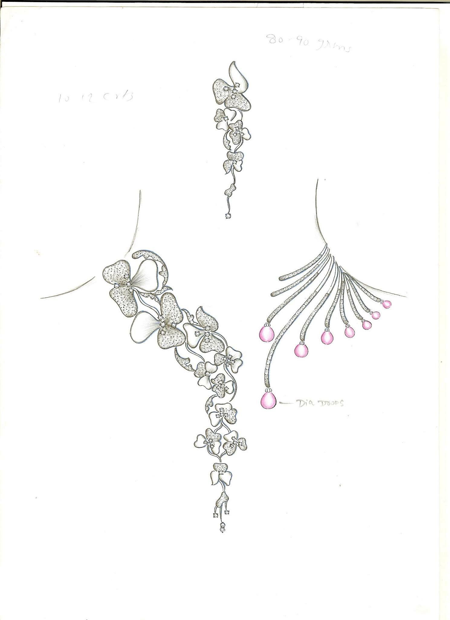 Pin by Janki Parekh on Jewelry in 2019 | Jewelry drawing ...