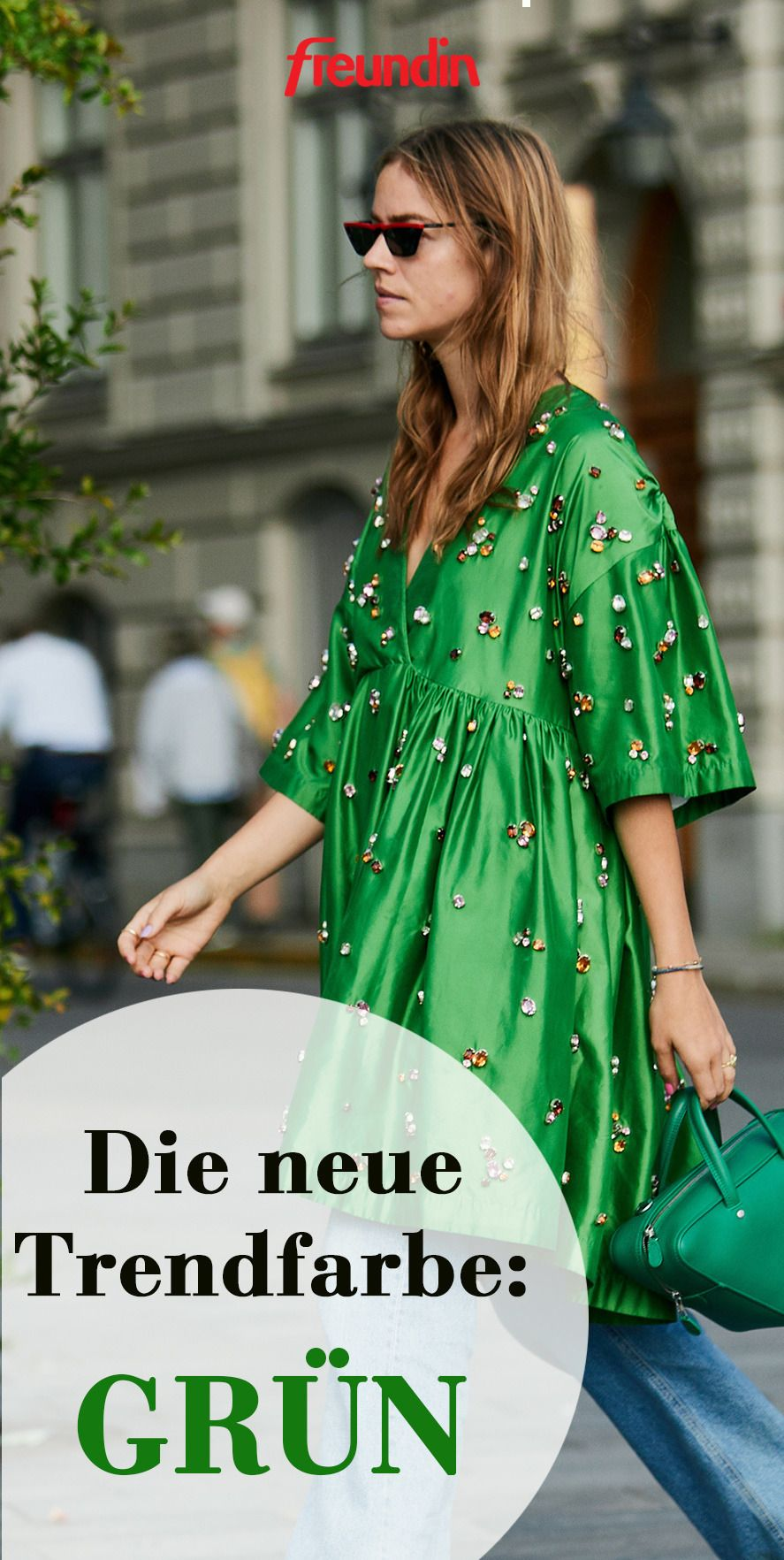 die neue trendfarbe für den herbst heißt grün | freundin.de