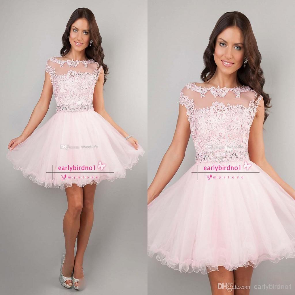 Wholesale Cocktail Dresses - Buy 2014 Cute Short Cocktail Prom ...