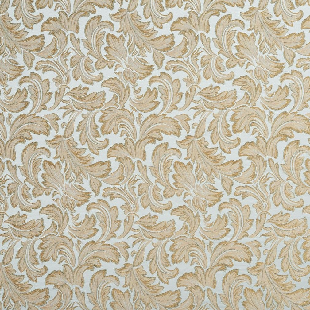 Grey textured grid microfiber stain resistant upholstery fabric by the - Blue Ivory Green And Gold Floral Leaf Damask Upholstery Fabric By The Yard