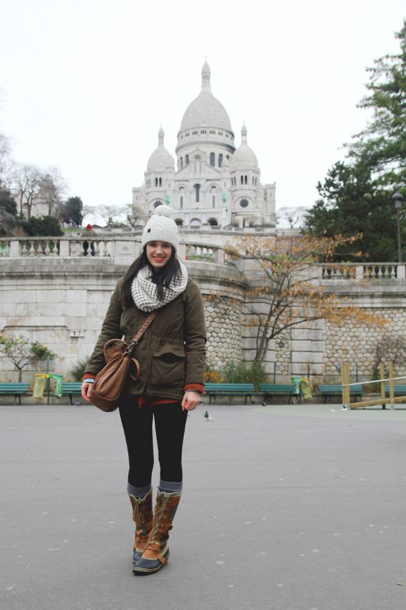Paris With Sorel Boots