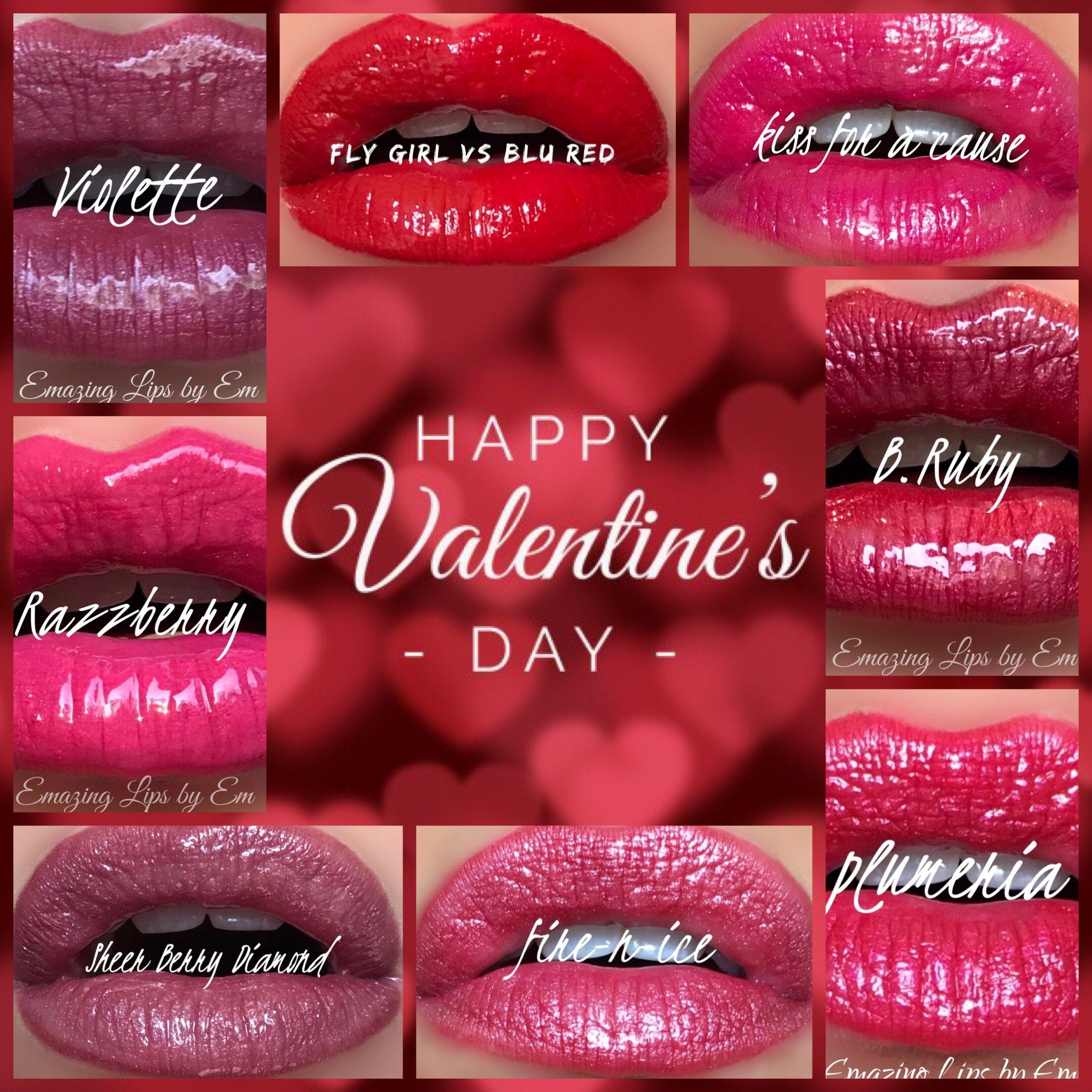 Happy Valentine S Day Valentines Lips With Lipsense Valentines