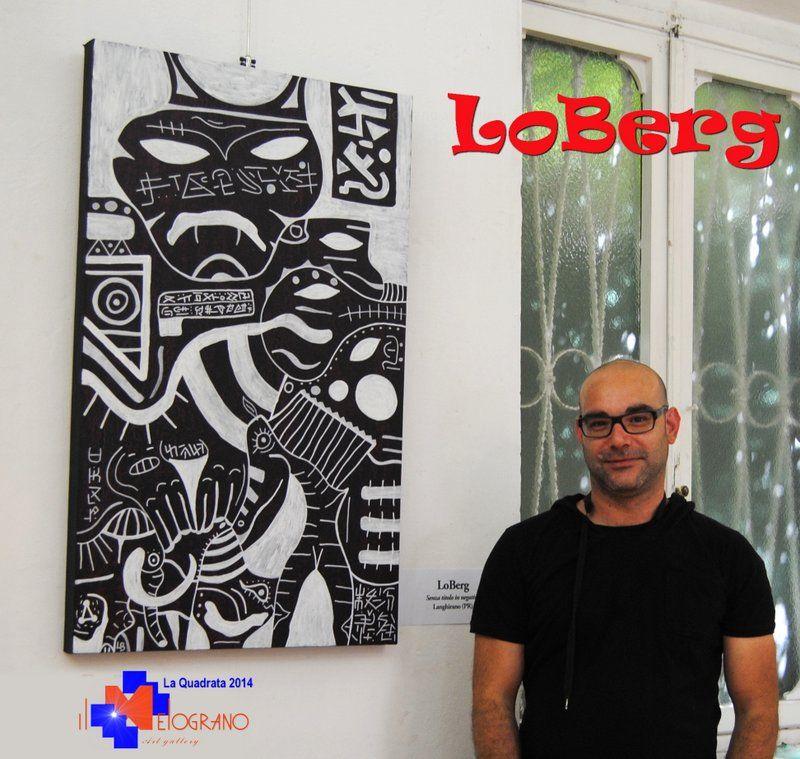 LoBerg a La Quadrata 2014 http://artelivorno.it/2014/06/16/loberg/ #laquadrata