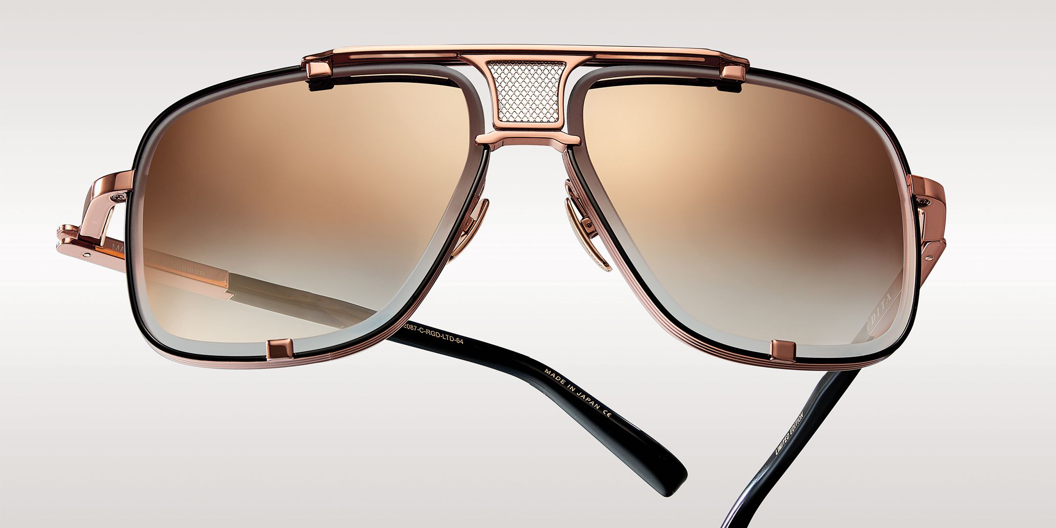 e9ac2be800a The Mach-Five Aviator Sunglasses by DITA Eyewear are a limited edition run  of only 500 pieces.  DITALTD