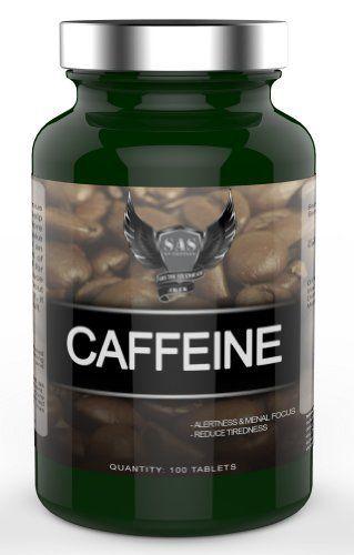 SAS NUtrition Caffeine 100 Tablets by SAS Nutrition, http ...