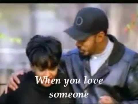 Anita Baker James Ingram When You Love Someone Lyrics Youtube