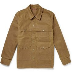 093504759e Filson - Tin Cloth Cruiser Oiled Cotton-Canvas Field Jacket | Style ...
