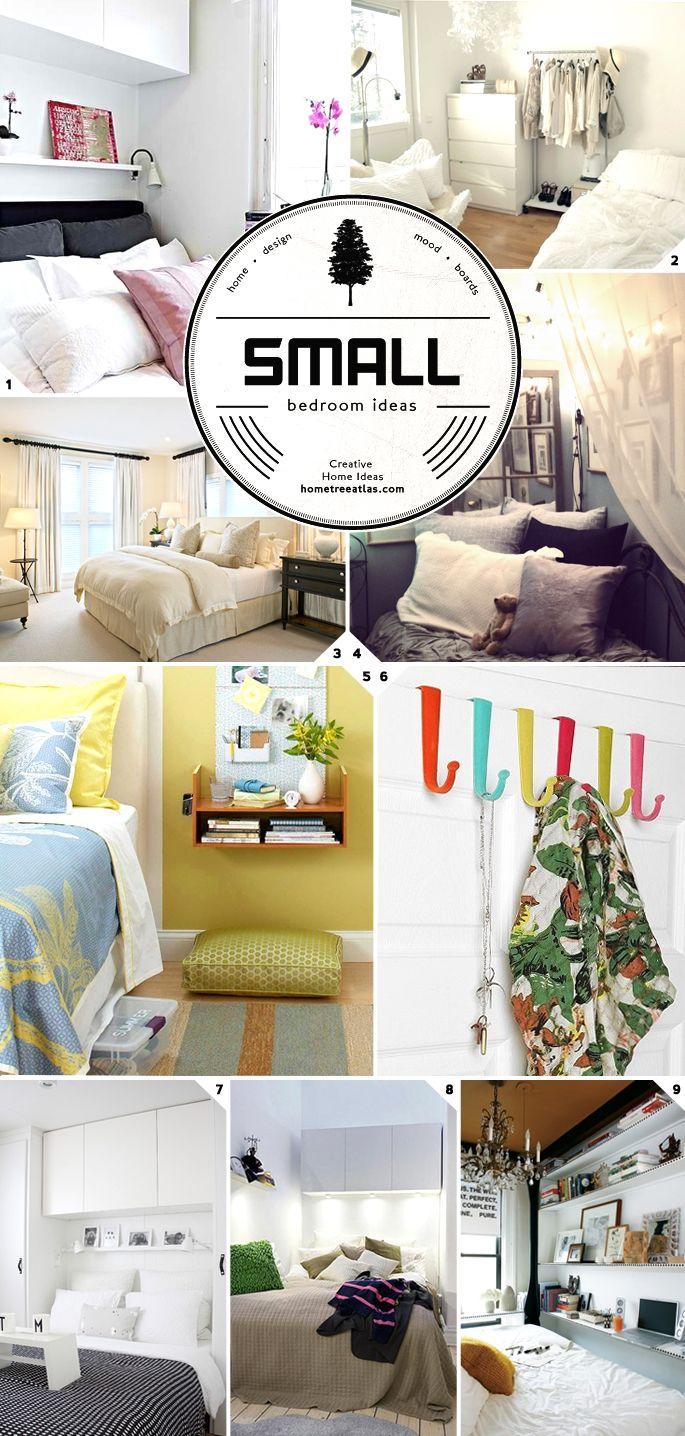1000 Images About Small Bedroom Big Bed On Pinterest