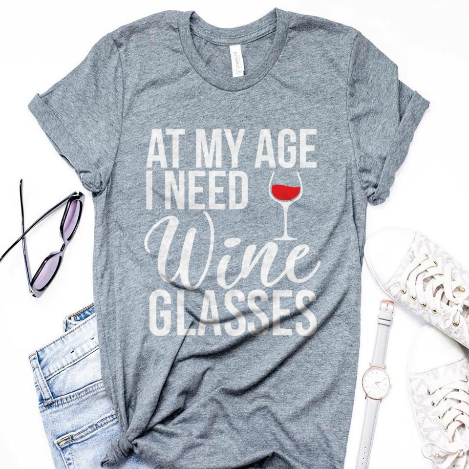 Funny Womens Tshirt This Wine is Making Me Awesome  Funny Wine Shirt  Gift for Women  Top Stylish Shirt