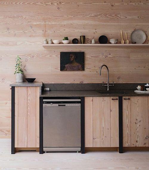 Lust auf Holz / Stilvolle Küche Interiors and Woods
