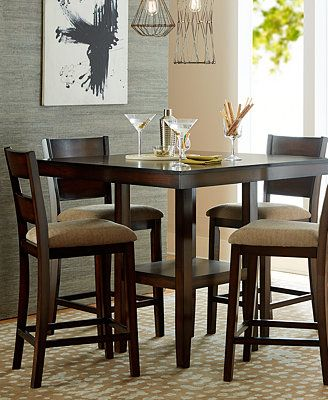 Branton Counter Height Dining Collection Furniture Macy S