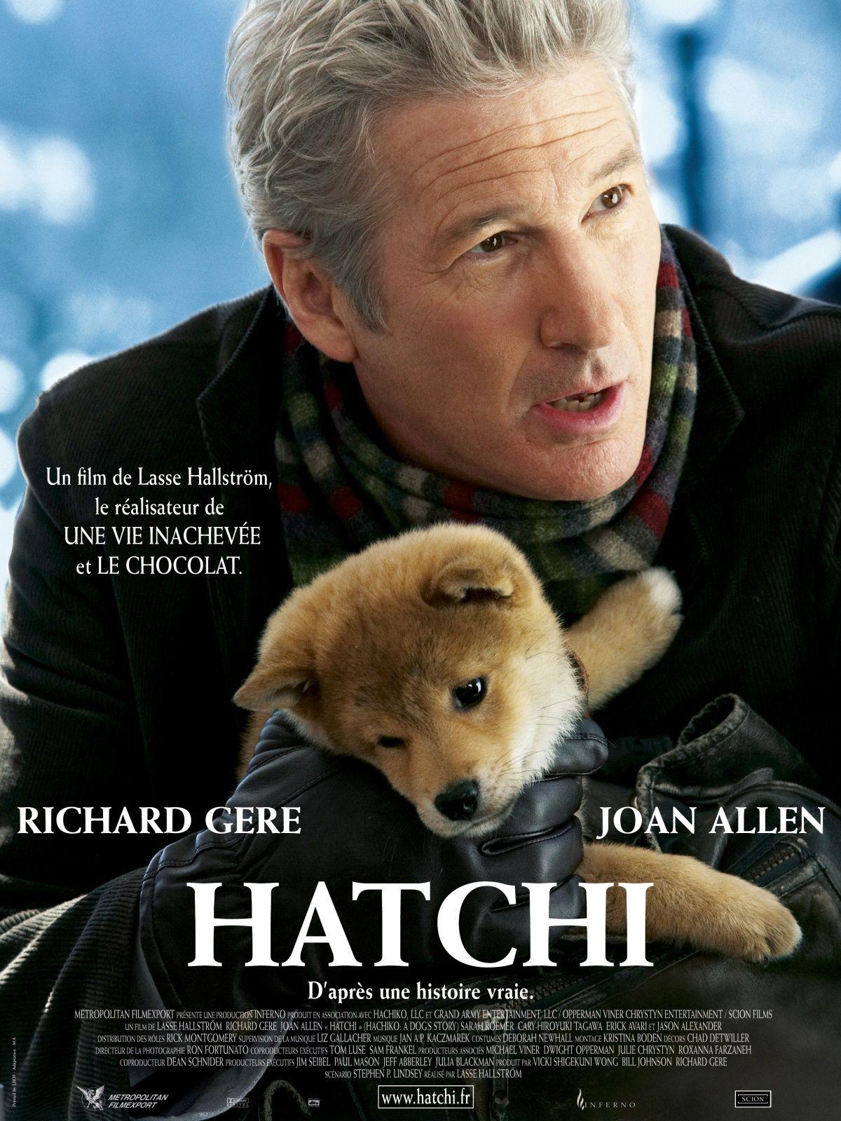 Hatchi avec Richard Gere L'histoire d'un chien qui est