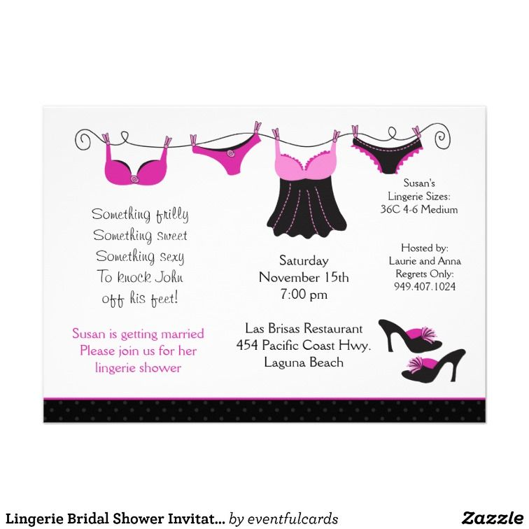Lingerie bridal shower invitation lingerie bridal showers shower lingerie bridal shower invitation filmwisefo