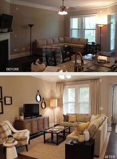 Small Living Room Decorating Ideas. | DIY Small Apartment Ideas ...