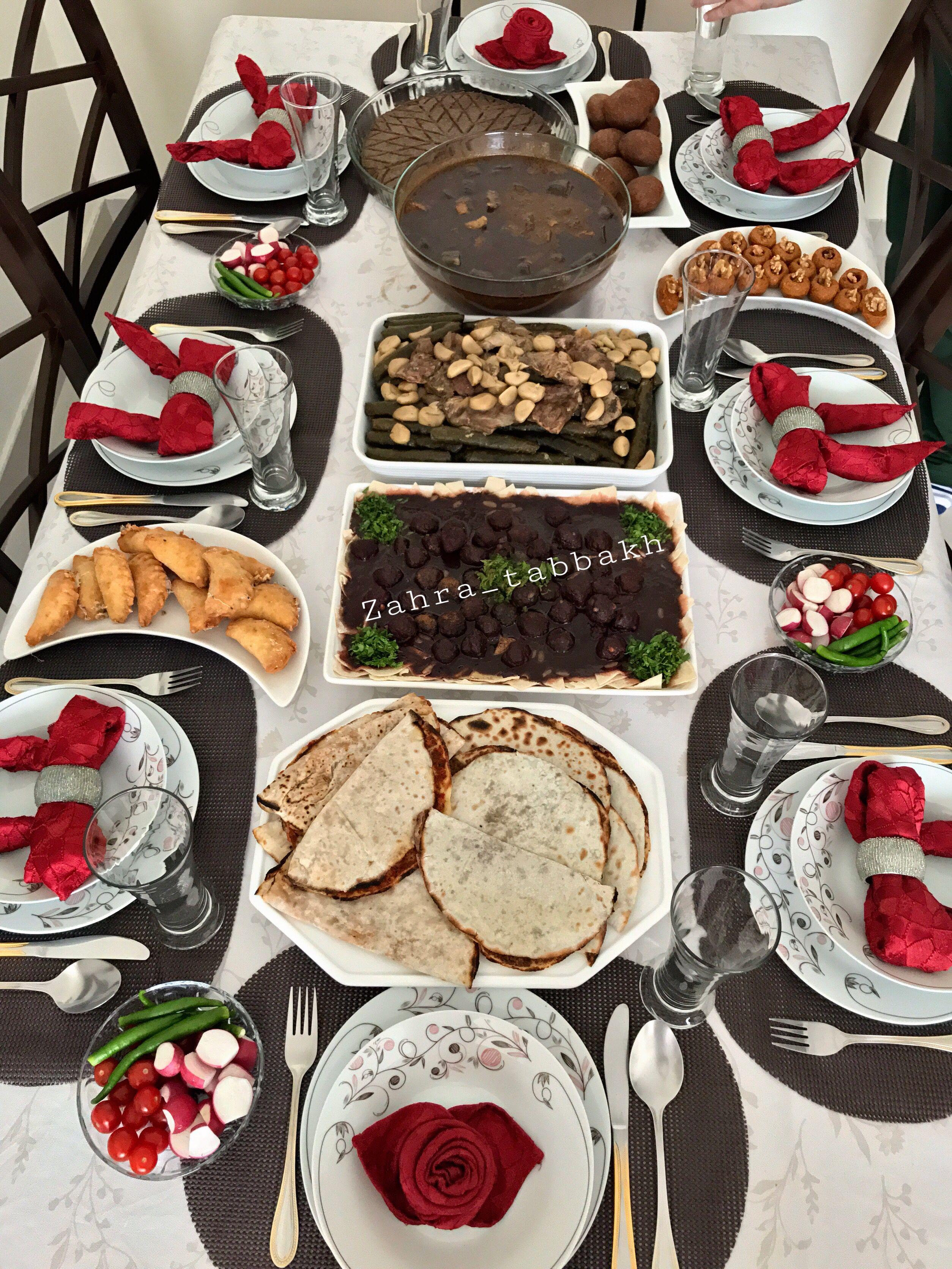 Homedecor ترتيب افكار ترتيب ترتيب طعام ديكور طاولات سفرة طعام أكلات طبخات تزيين طاولات تزيين Tablesettings Food Fooddesign Decor Desserts حلويات