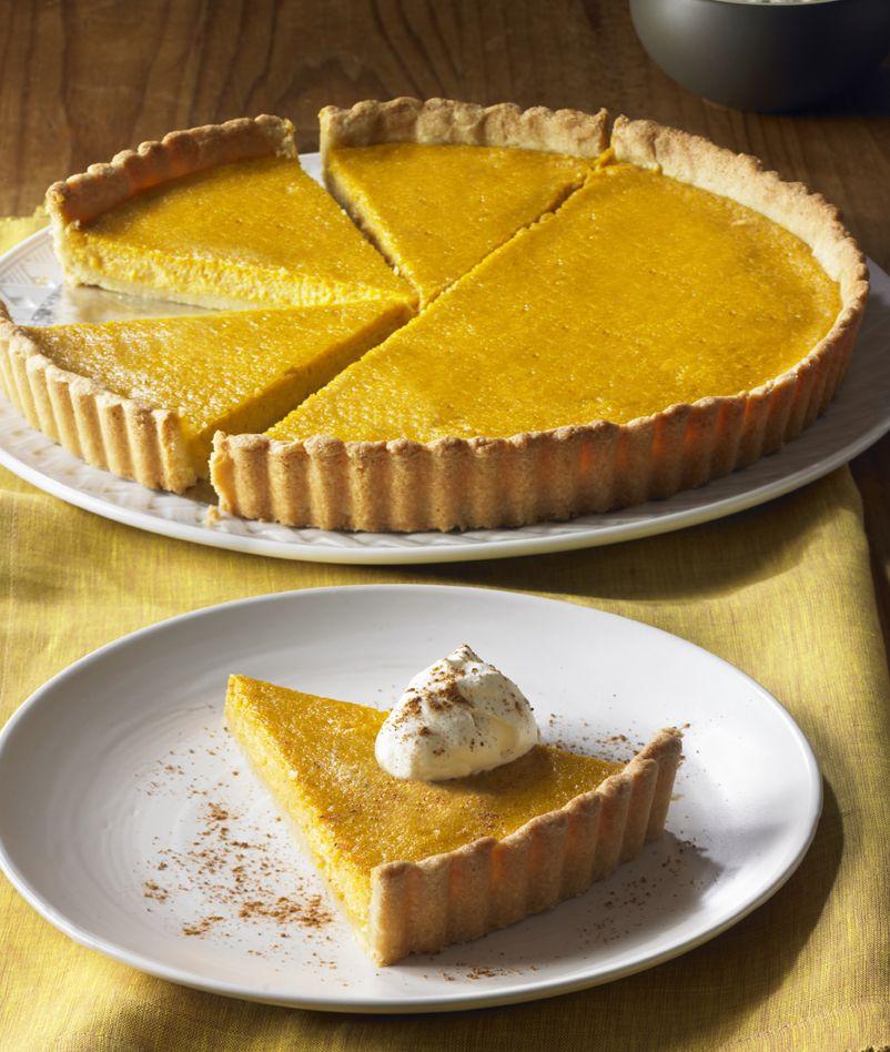 Pumpkin Tart by Nancy Silverton