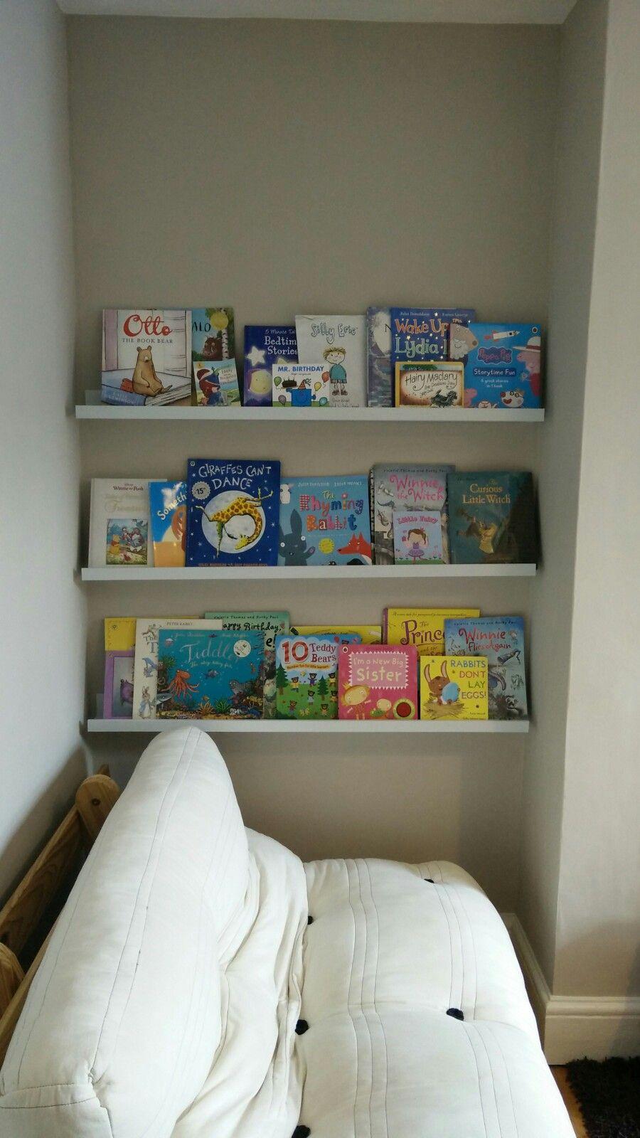 Ikea Mosslanda Picture Ledges For Books Floating Shelves Boy S