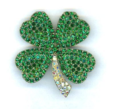 EMERALD AND CRYSTAL AB WEISS REPRO SHAMROCK, NICE   eBay