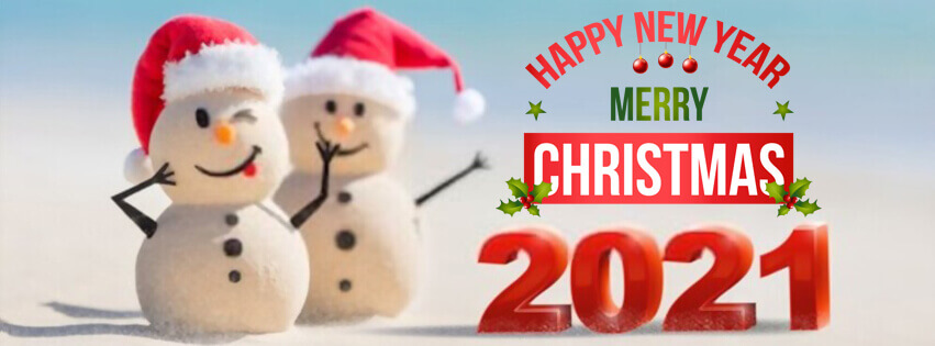 Merry Christmas And Happy New Year 2021 Fb Banner 30 Happy New Year 2021 Facebook Covers Fb Cover Pics Christmas Facebook Cover Cover Pics Facebook Cover
