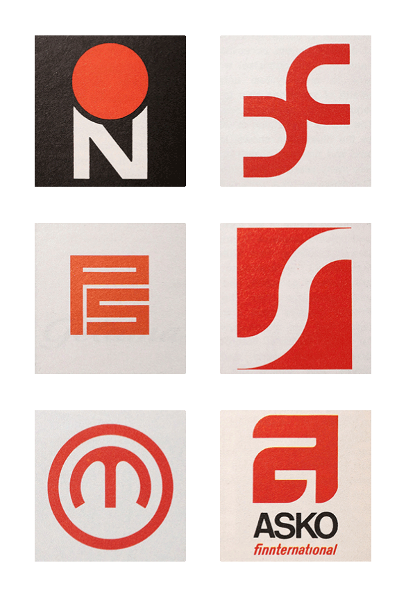 Friday Find Scandinavian Logos From The 1960s 70s Graphic Design Logo Retro Logos Branding Design