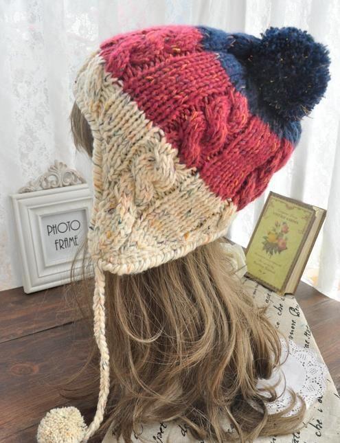 Venta al por mayor gorros tejidos para mujeres-Compre gorros ... afc66019eb7