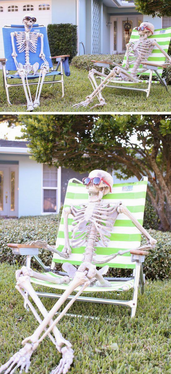 20+ Super Cool DIY Outdoor Halloween Decorations! Pinterest Diy - how to make halloween decorations for yard
