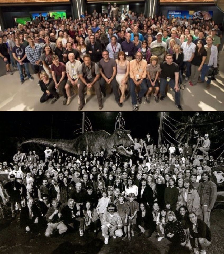 Jurassic World cast and crew. Jurassic Park cast and crew