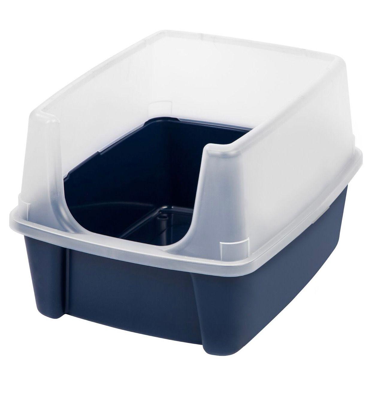 Open Top Litter Box 19x15x11 75 Litter Box Cat Litter Box Litter Box Covers