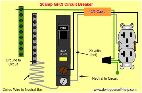 Circuit Breaker Wiring Diagrams  Doityourselfhelp