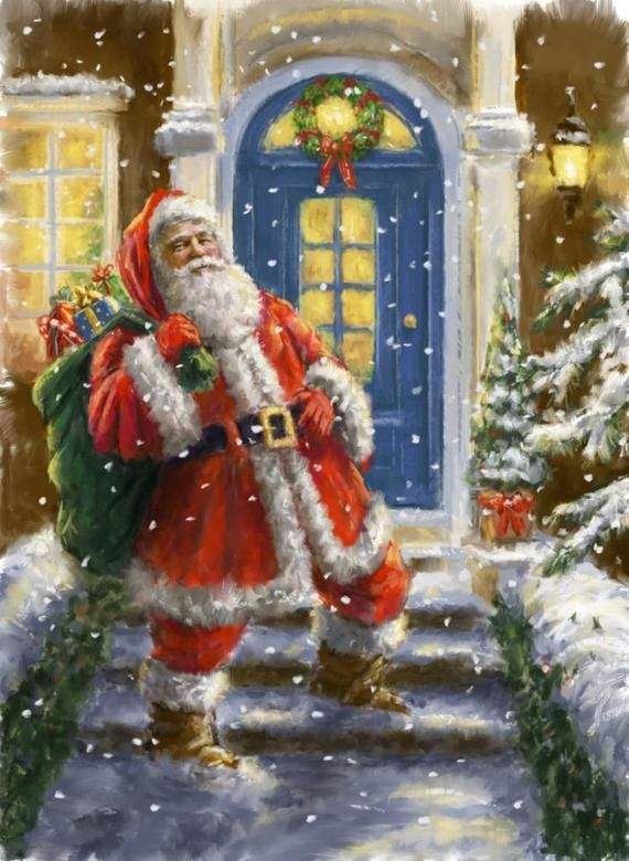 New sealed embroidery cross stitch kit Christmas Print. High quality fabric and threads.Size: 24x33,5 cm (9.44