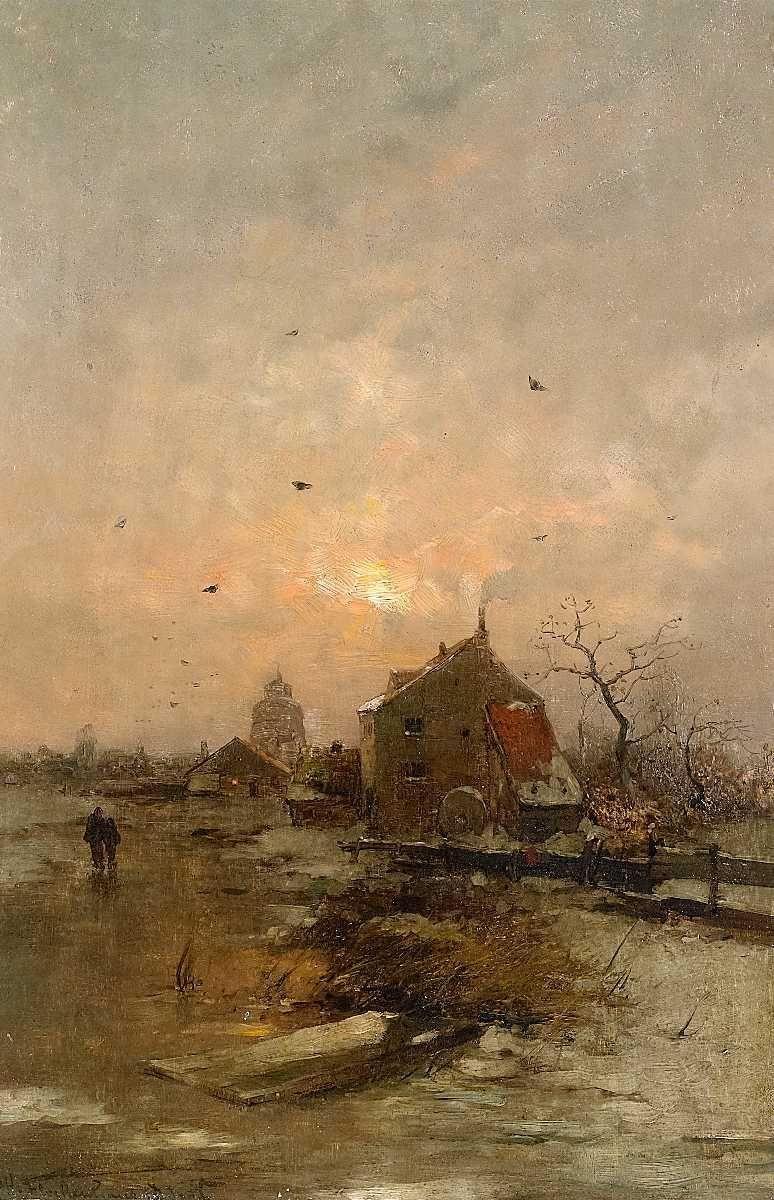 Heinz Flockenhaus Winterabend