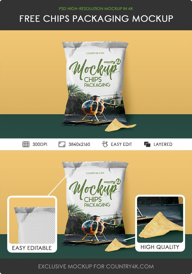 Download Https Country4k Com Product Free Chips Packaging Mockup In 4k Chip Packaging Packaging Mockup Mockup